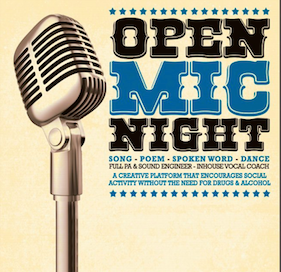 Open Mic Letterkenny takes place monthly, next date 17th October.