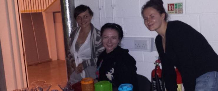 Amanda Healy, Mary Vernon and Zoe
