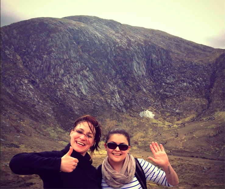 Deep in the Poisoned Glen Dunlewy and happy out!