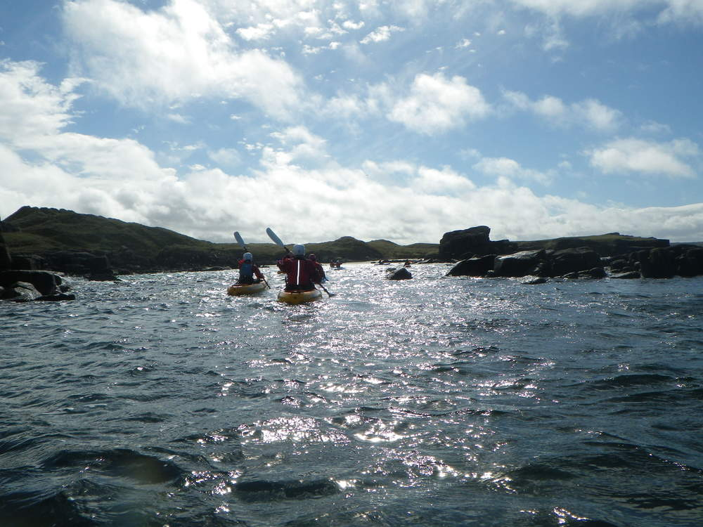 Kayaking in Kincasslagh