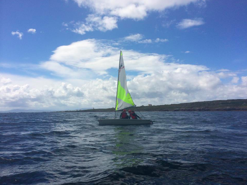 Sailing on Arranmore le Cumann na mBád.