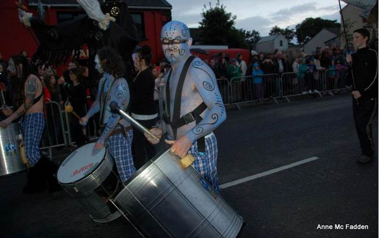 Formorian soldiers in the carnival procession last year. Spectacular.