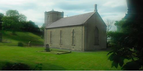 St Anne's Church Kilult where Balors Banquet will take place on Saturday the 23rd August.