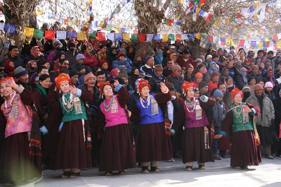 Traditional Ladakhi folk dance