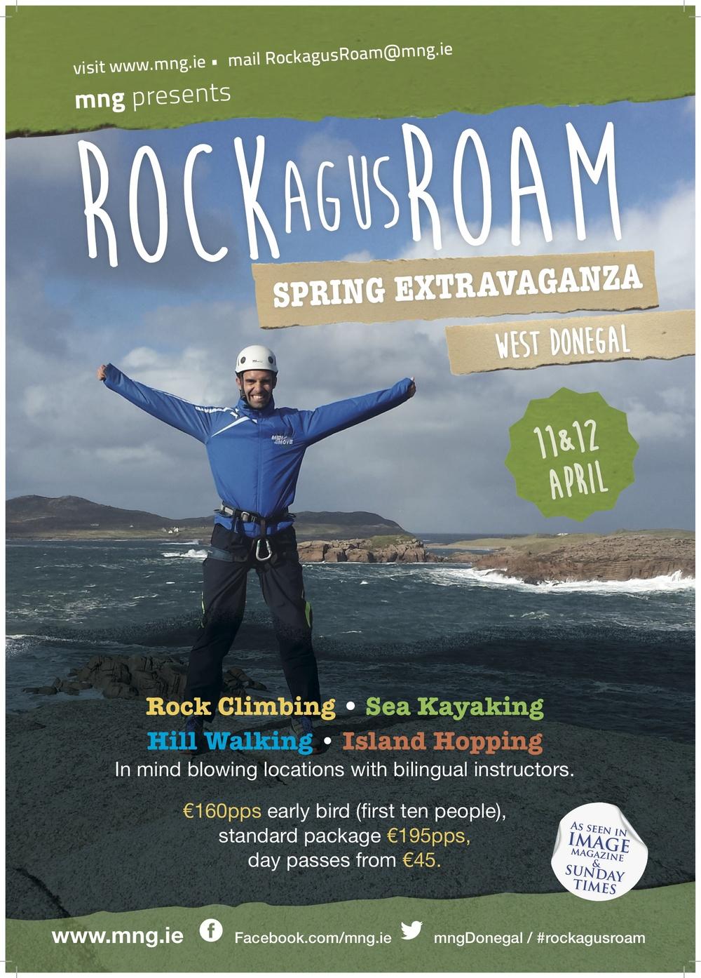 Rock agus Roam's next event!