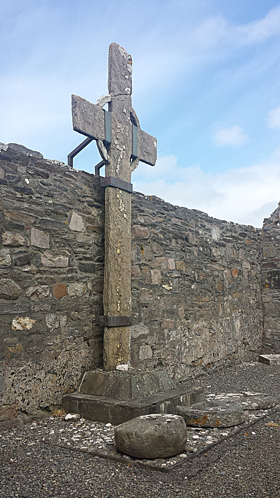 High Cross at Ray Church Falcarragh