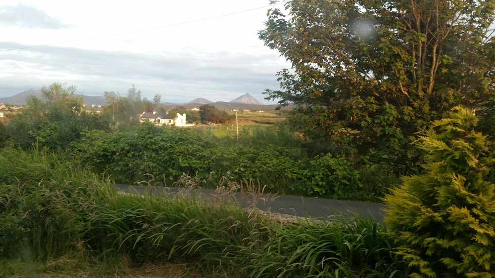 View from my house in Derryconor, Donegal.