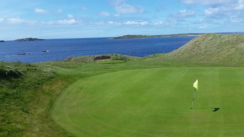 Par 3 - Panoramic Views of all the Donegal Islands.