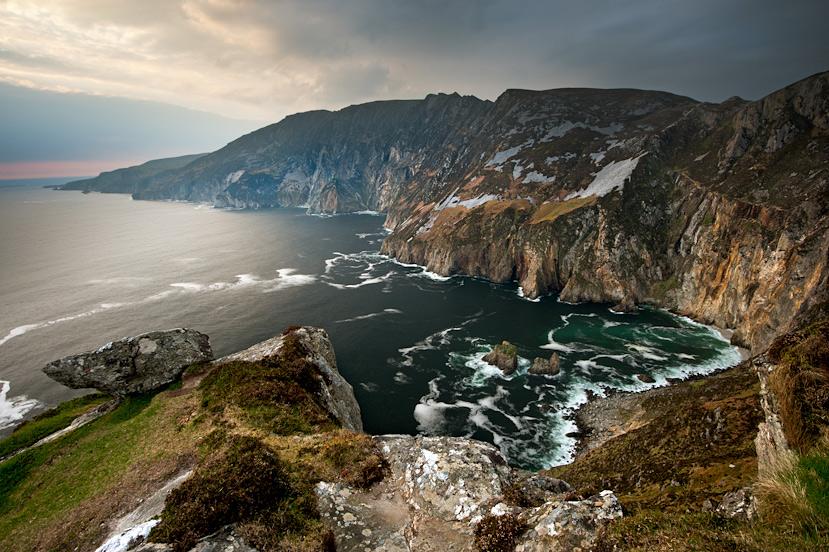Europe's Highest Sea Cliffs - Slieve League or Sliabh Liag - Donegal.