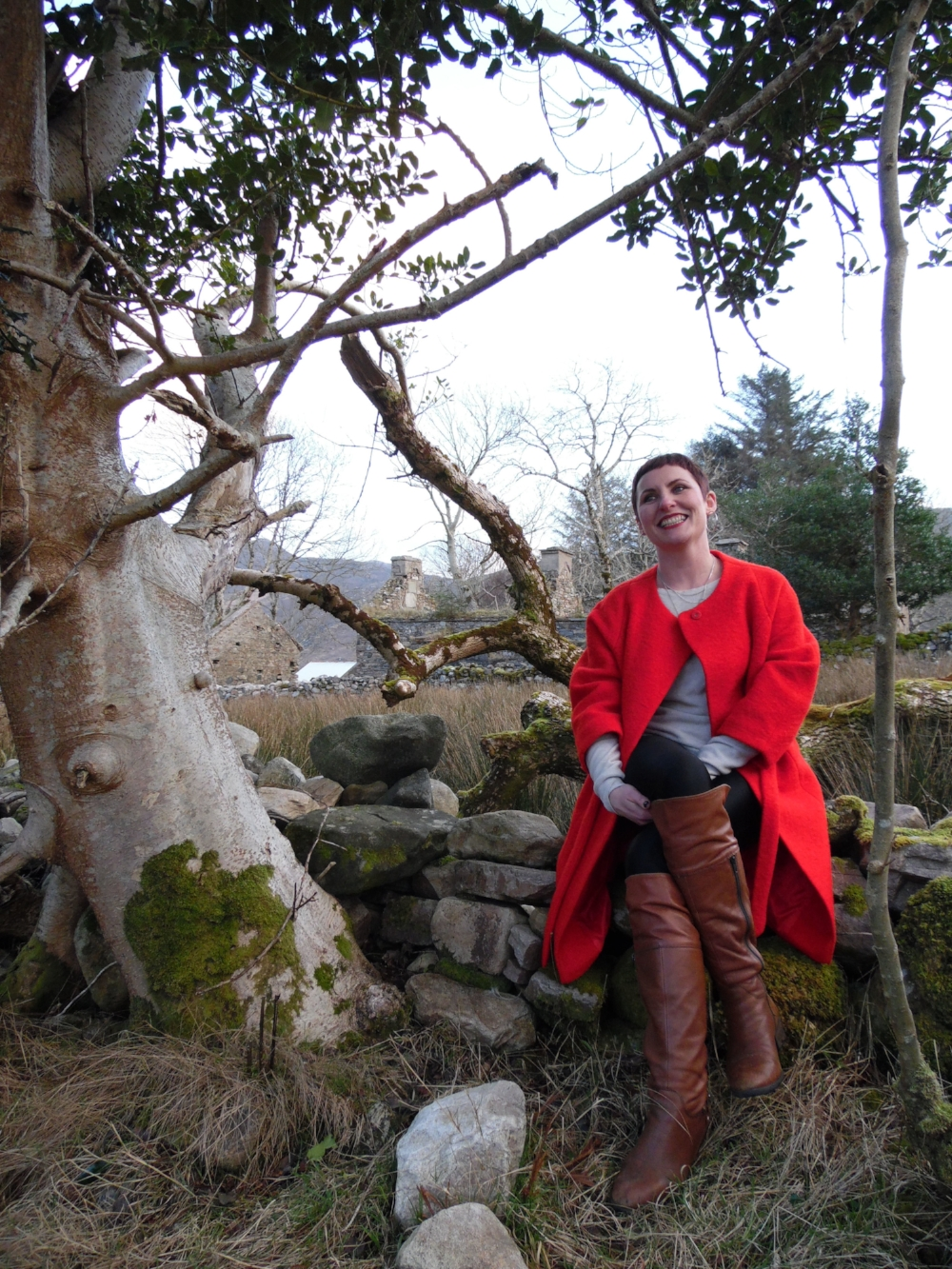 me - Moira Ní Ghallachóir - mng - Dunlewy, Donegal