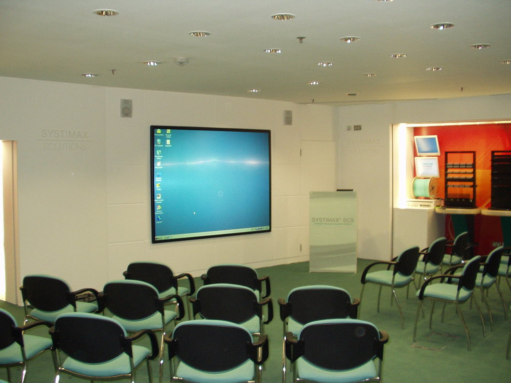 Commscope Customer Presentation Room