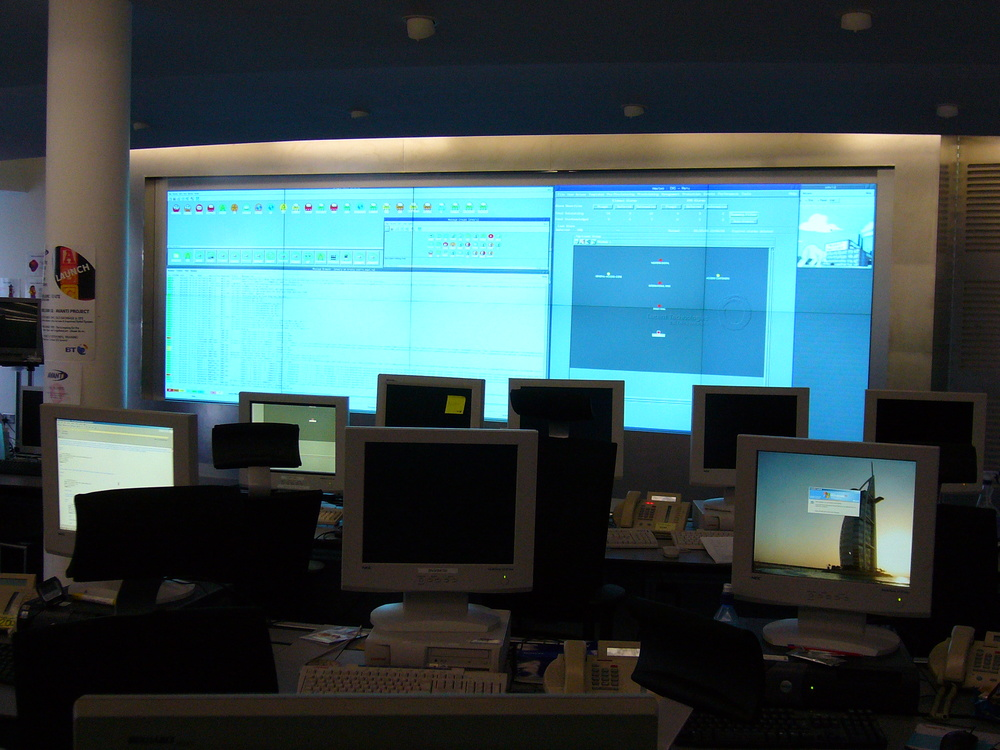 BT Control Room Video Wall