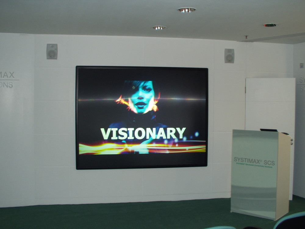 REAR PROJECTION MEETING ROOM