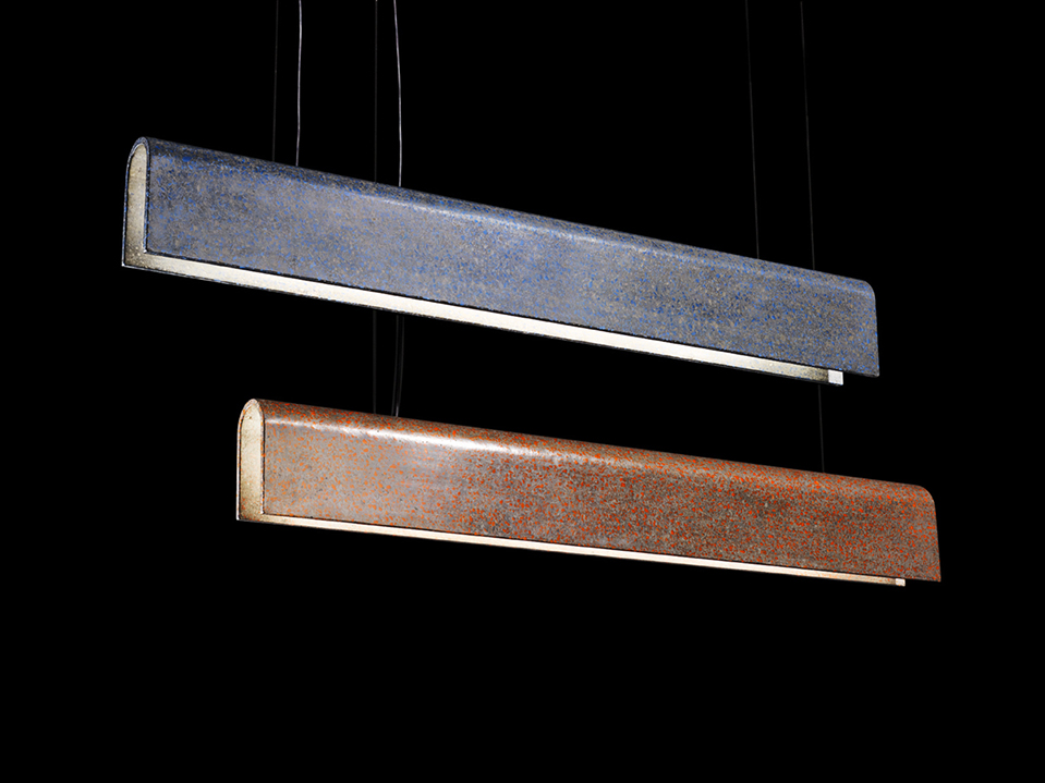 Terrazzo Project - Long Suspended Lamp