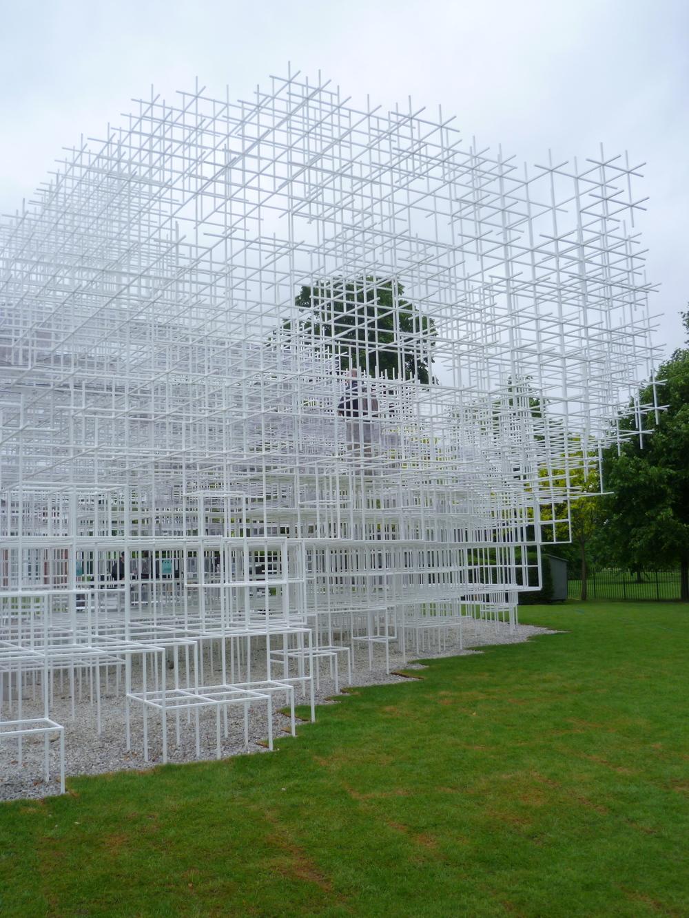 Serpentine Pavilion / Sou Fujimoto