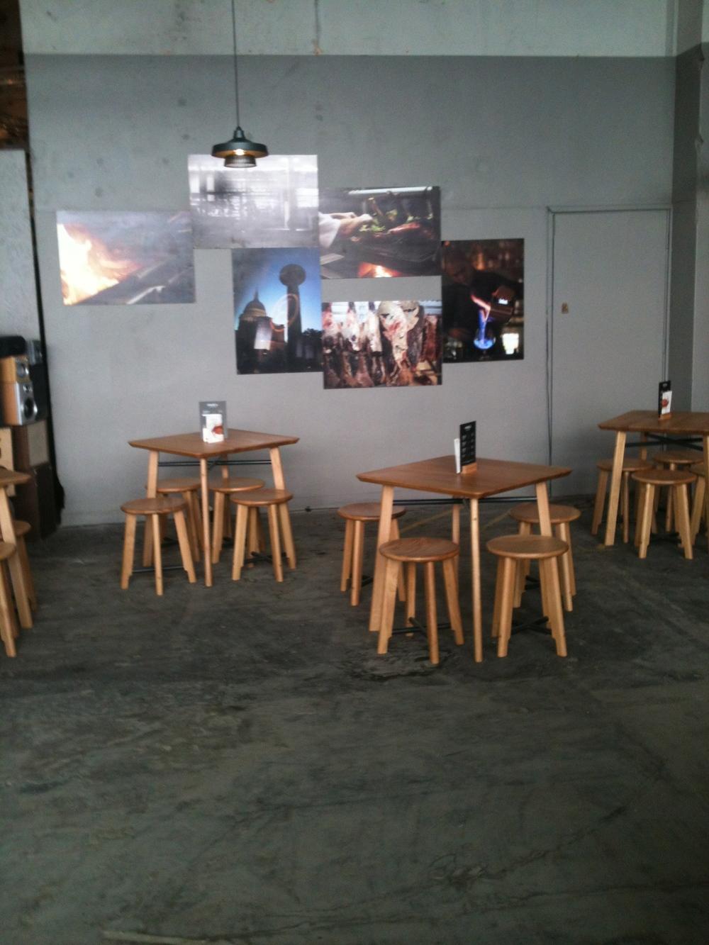 Barbecoa at Design Junction