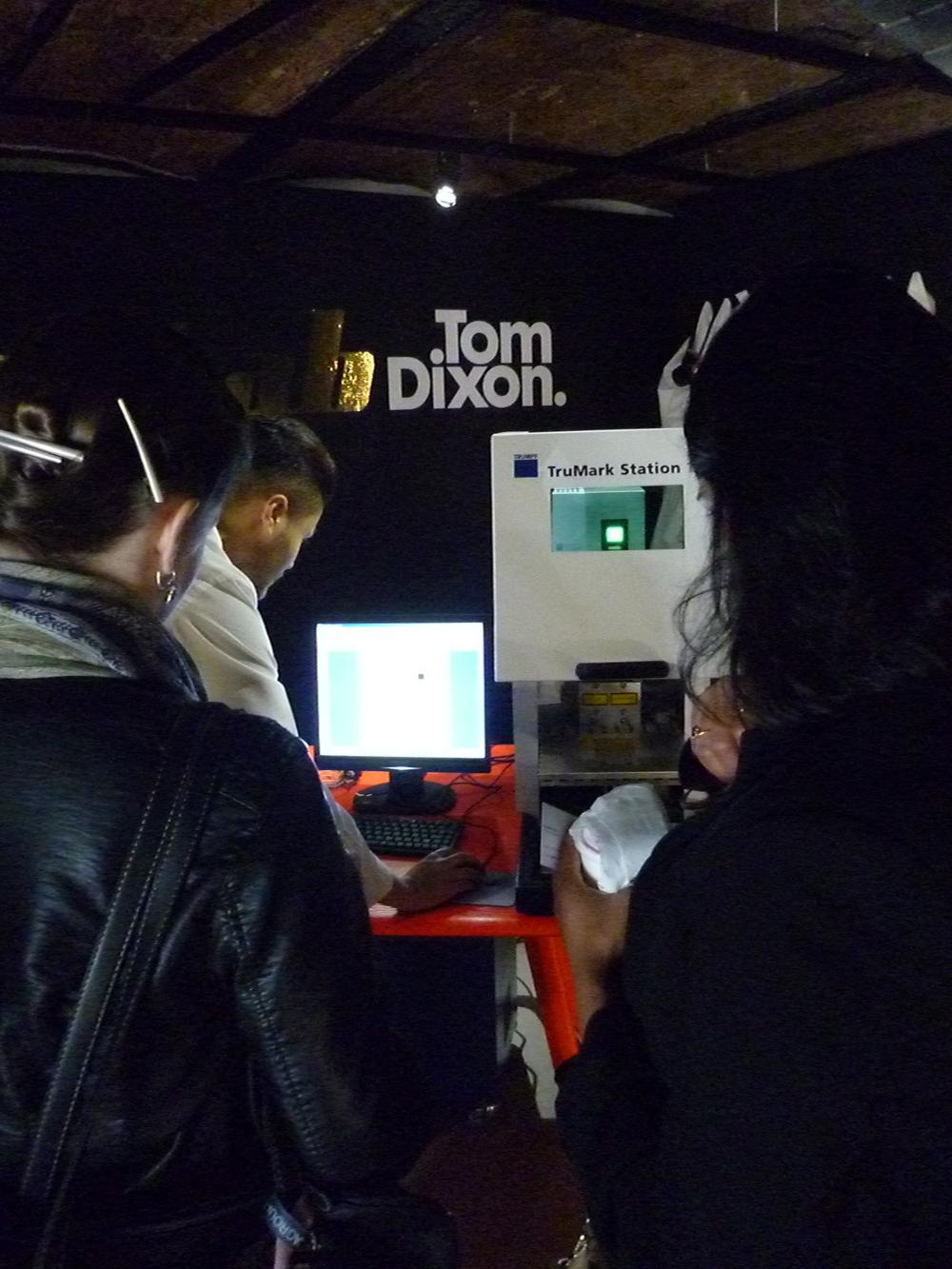 Tom Dixon/ Laser Lab at the Dock