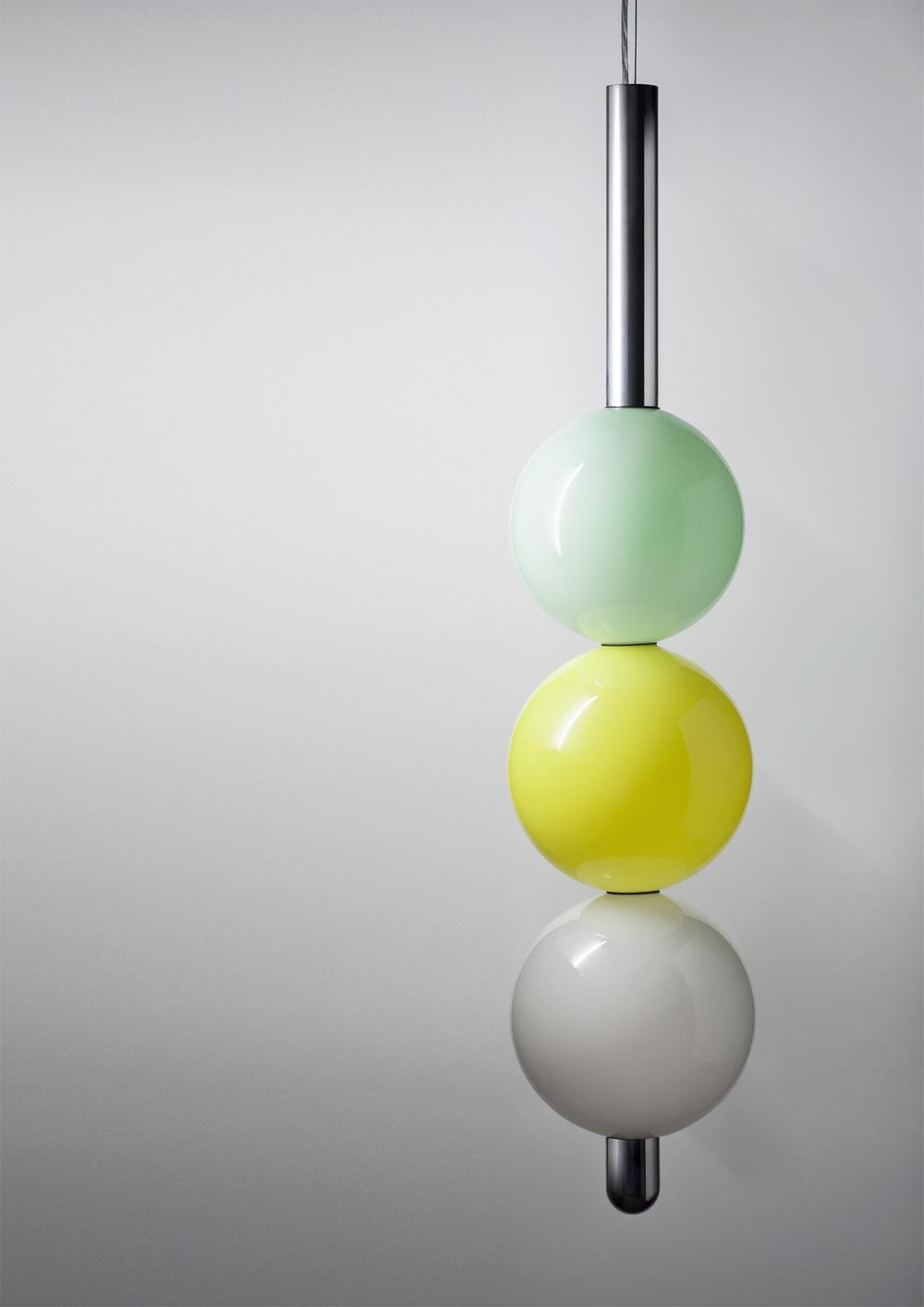 'Ball Ball Ball' pendant light from the new BIG! collectionDaniel·Emma