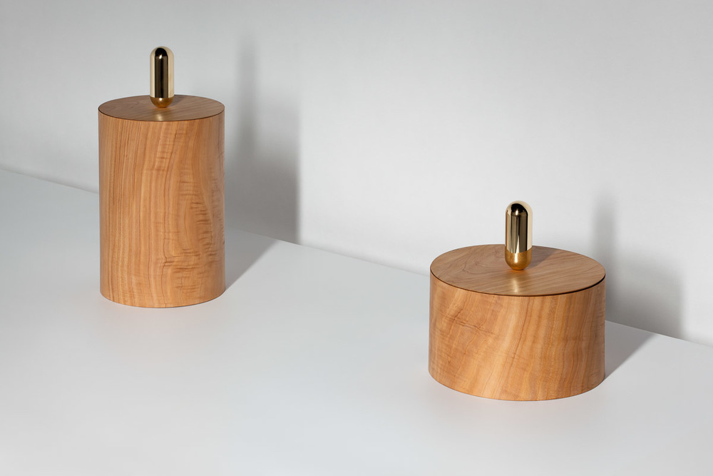 'Tic Tac' large timber containers from the new BIG! collectionDaniel·Emma