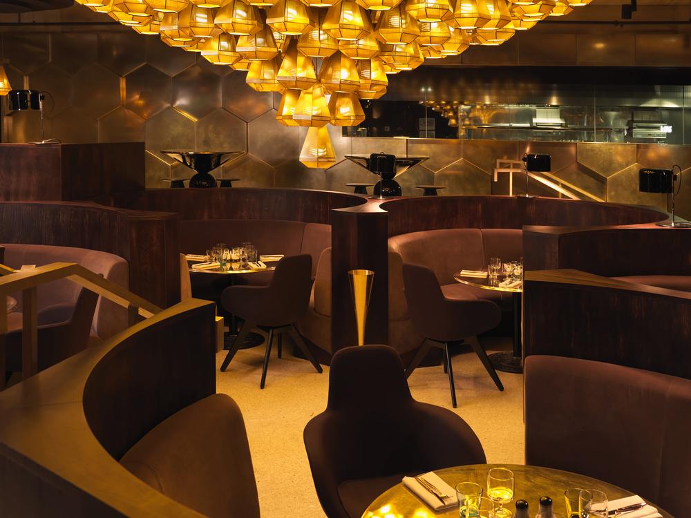 Tom Dixon/ Design Research Studio / Eclectic restaurant, Paris