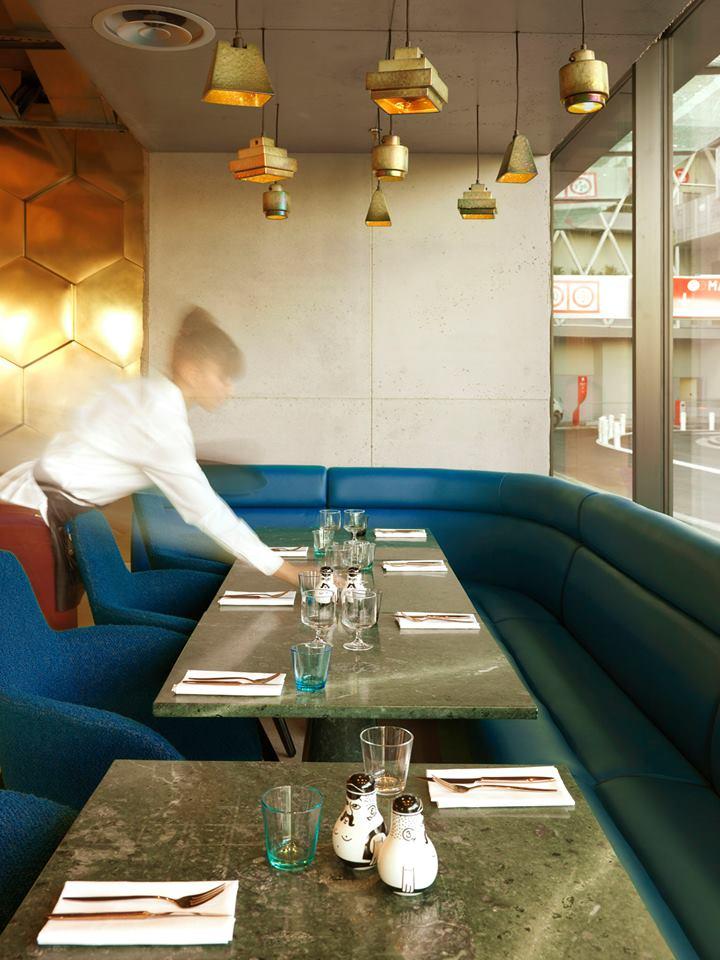 Tom Dixon/Design Research Studio/ Eclectic restaurant, Paris
