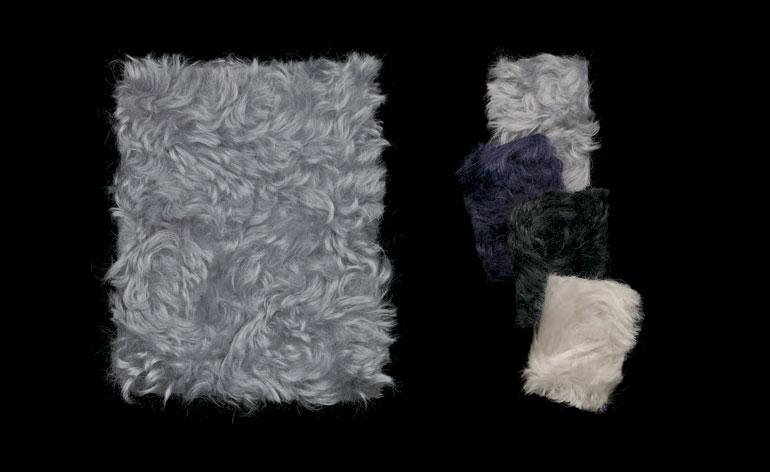 The new mohair 'Argo' fabric