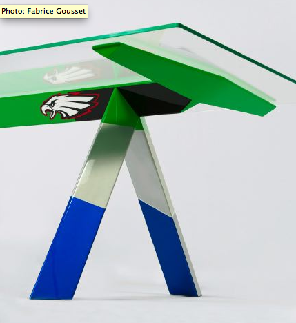 Champions tables / Konstantin Grcic