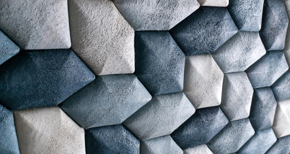 Luffa Acoustic Tiles /Mauricio Affonso