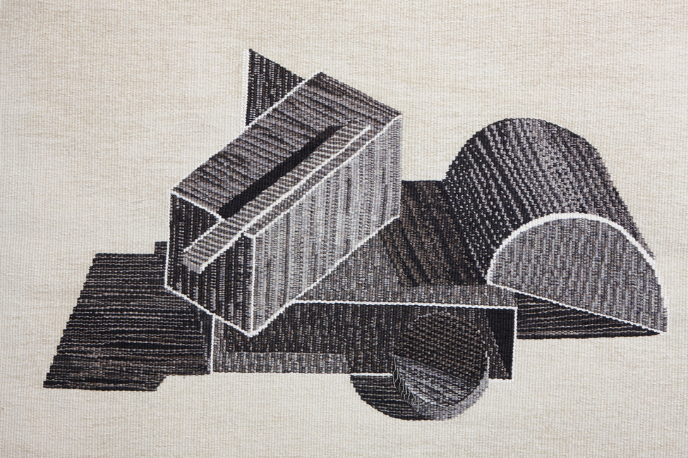 Play-Tapestry /Worsted Wool, Linen, Cotton Warp, Wool West
