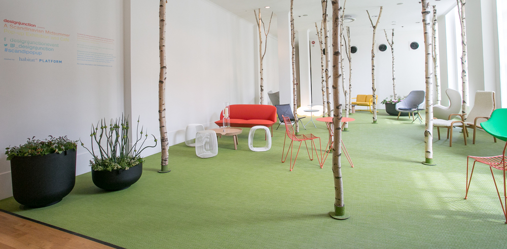 Scandinavian Midsummer at Platform Gallery / Design Junction Preview