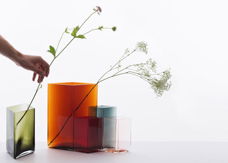 Ronan & Erwan Bouroullec / Ruutu vases - Iittala