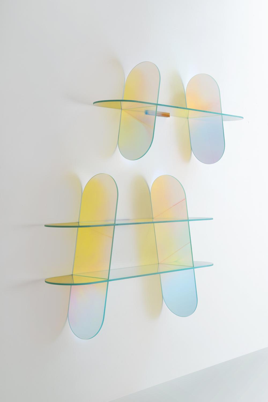 Glas Italia / Shimmer by Patricia Urquiola / London Design Journal