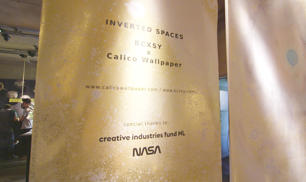 Calico Wallpaper x BCXSY / Inverted Spaces / LondonDesignJournal