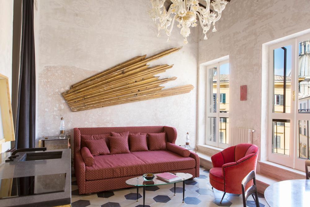 G-Rough / Design Hotels Rome / London Design Journal