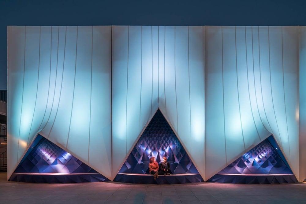 DUS architects / Facade for Dutch EU presidency