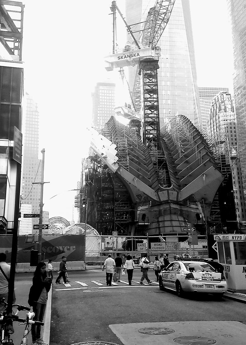 CALATRAVA TRANSIT HUB, WTC.