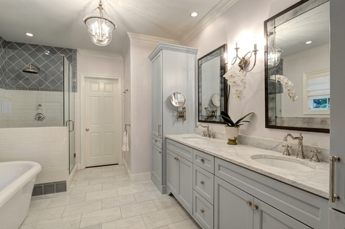 Master Bathroom Kitchen dover rd master bath & kitchen design — the consulting house