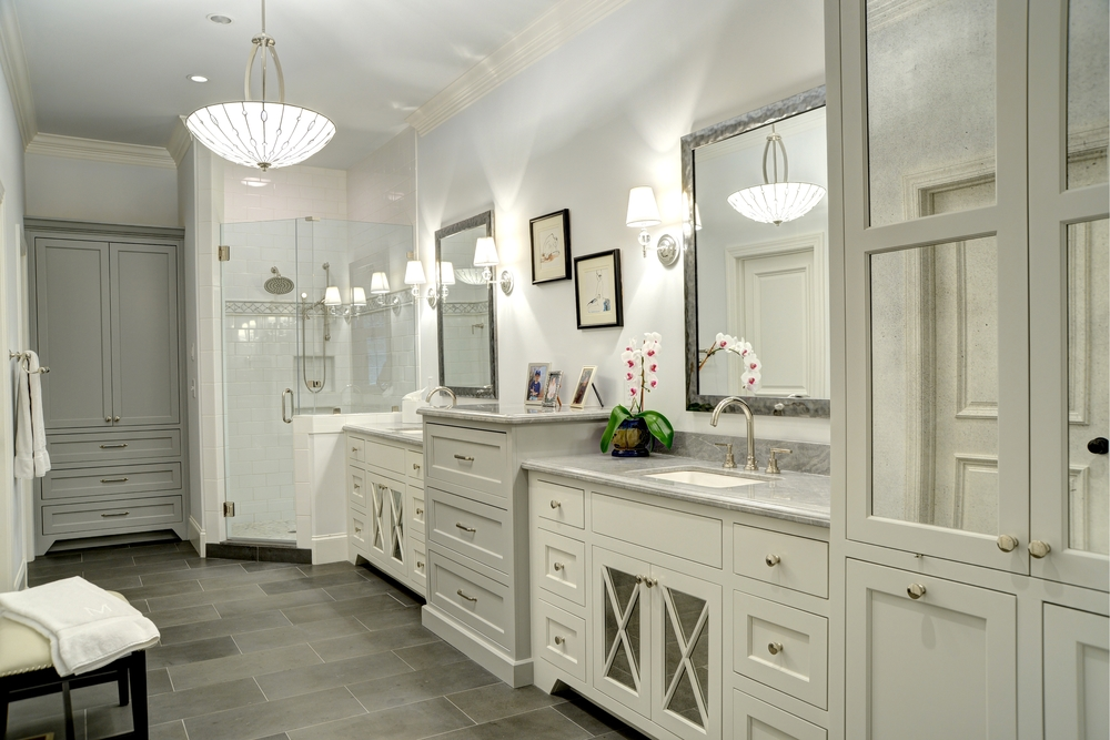 This Project Involved A Complete Teardown Of The Existing Bathroom  Requiring Both Walls And A Window