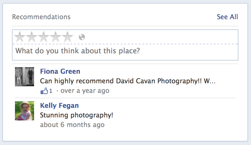 david cavan facebook recommendation