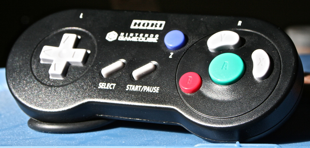 Hori's classically-styled GameCube controller.