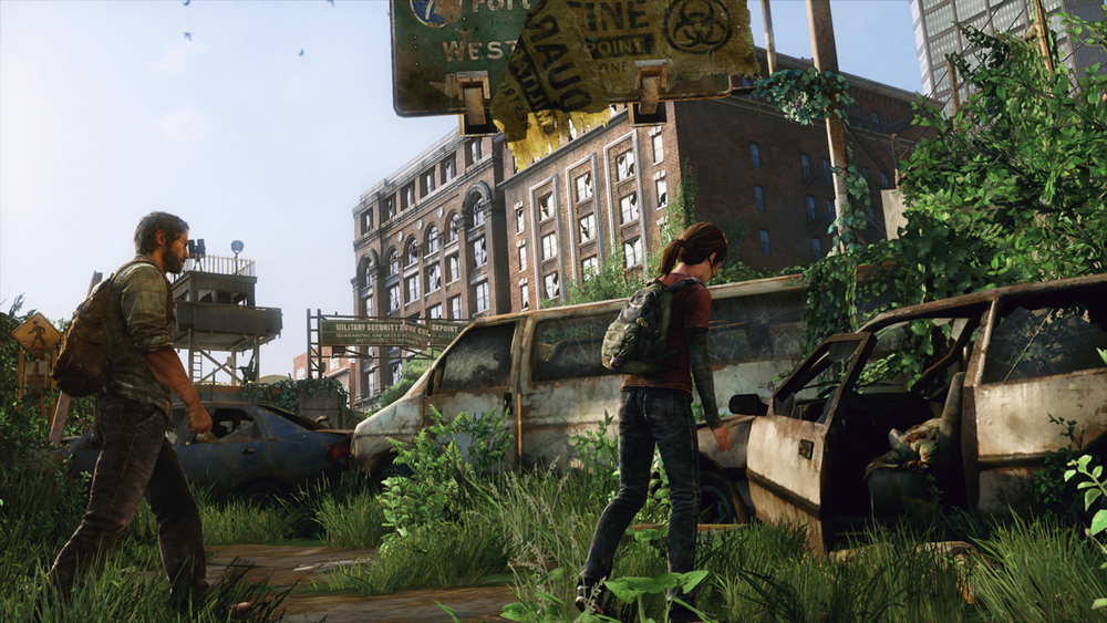 Joel and Ellie make their way through the collapsed infrastructure of the US.