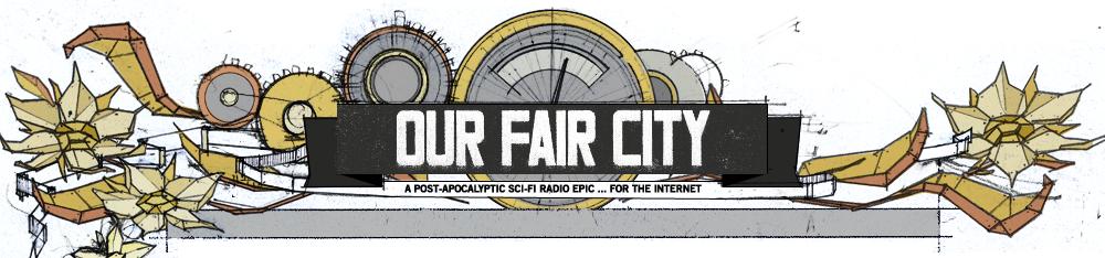 The   Our Fair City   logo