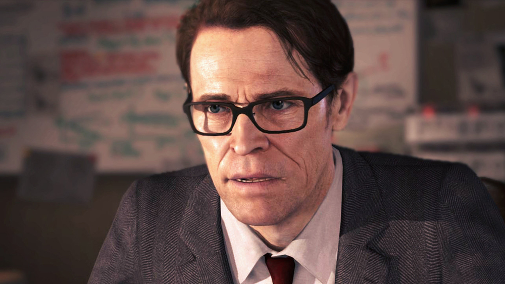 Willem Dafoe as Nathan.
