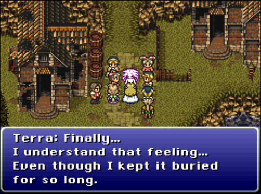 Hey, look, Terra realized what feelings are.