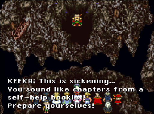 One of Kefka's many classic lines.