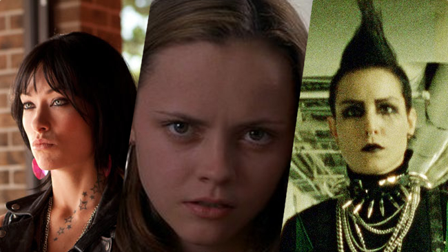 Examples: Brooke,   Butter  ; Elizabeth,   Prozac Nation  ; Lisbeth Salander,   The Girl with the Dragon Tattoo