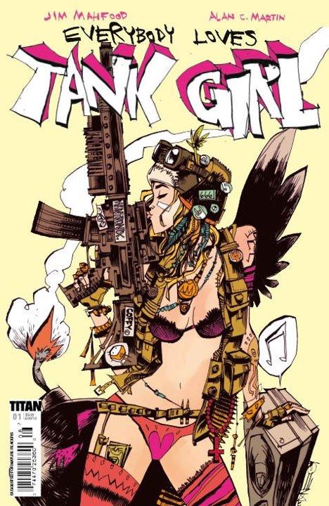 One of Jim Mahfood's Tank Girl covers