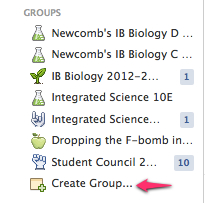 Step 1: Create Group