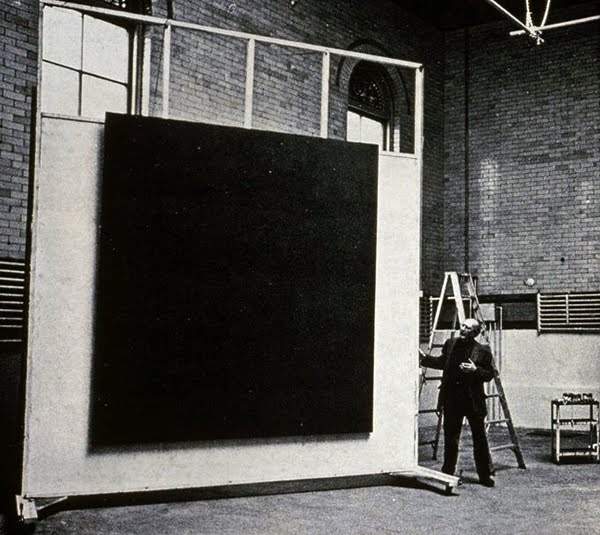Mark Rothko in his New York studio