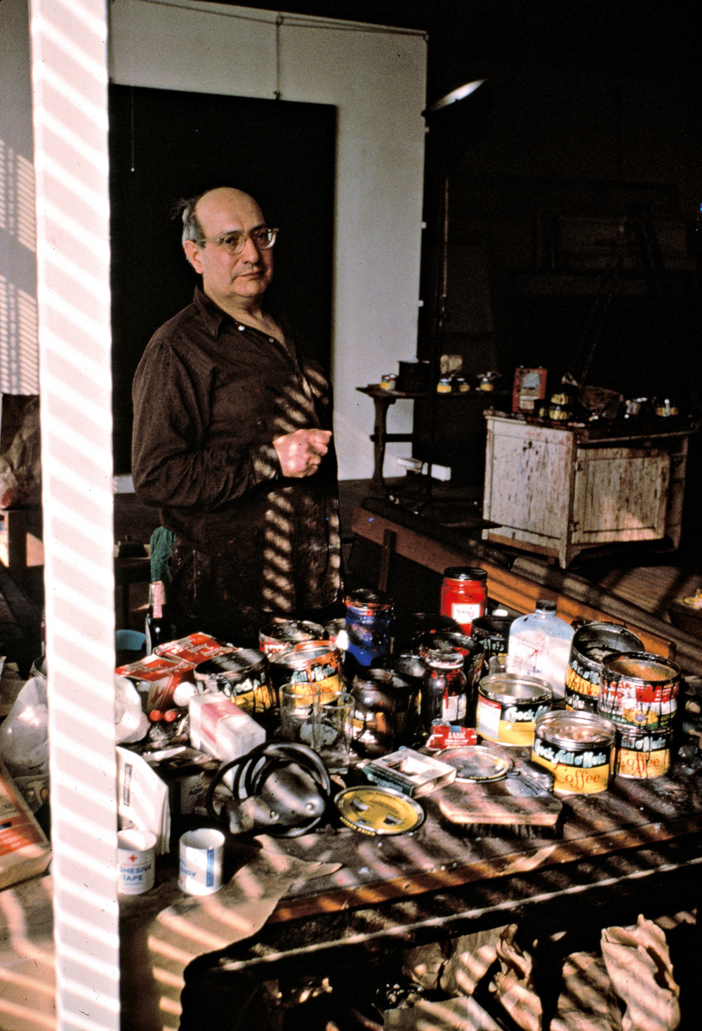 Rothko in his studio